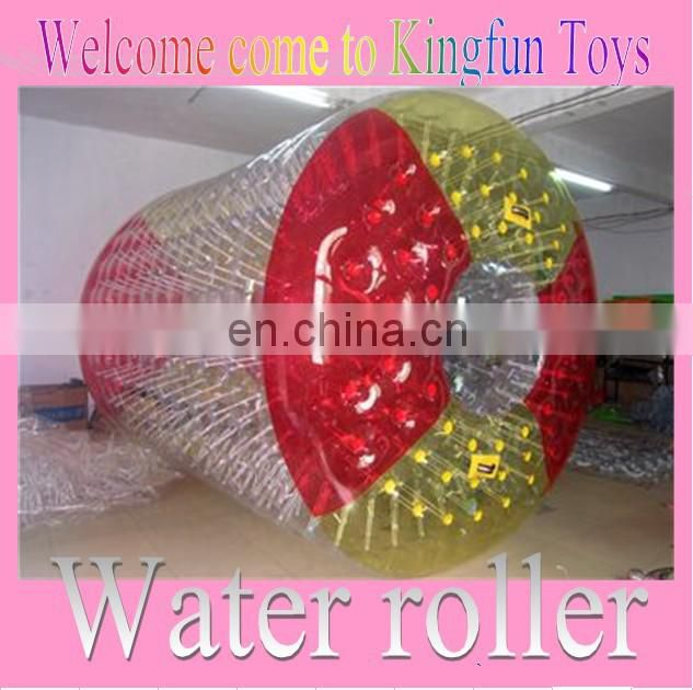 2014 Colored Inflatable water rolleraqua roller
