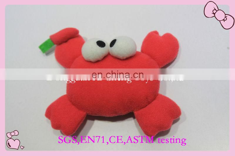 Lovely plush pet toys plush bag design