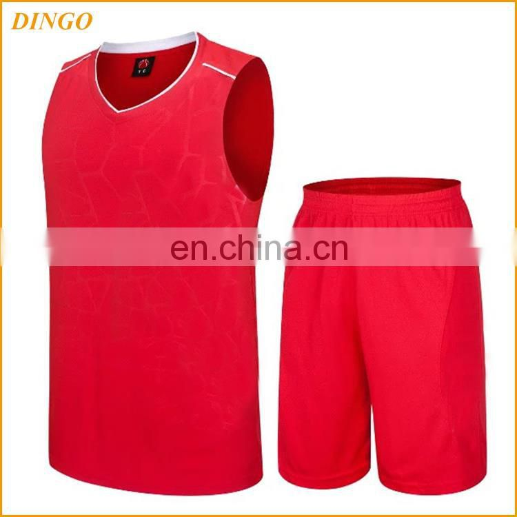 china custom design sublimated basketball jersey wear men's basketball uniform