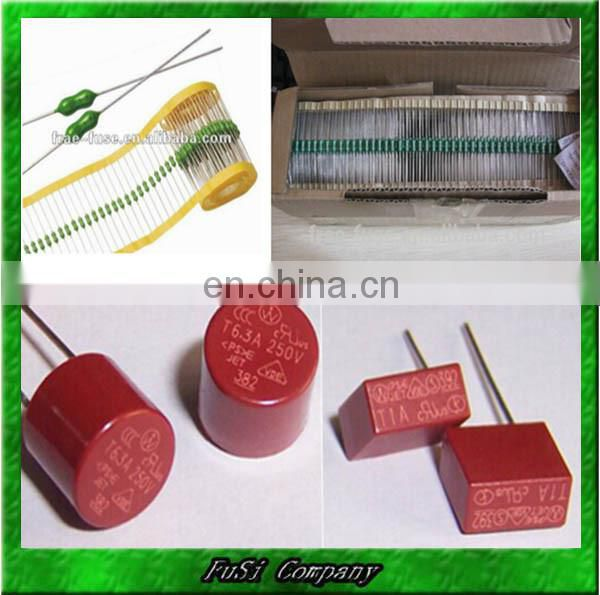 Resistor Type Axial Pico Fuse (Micro Fuse, Subminiature fuse)