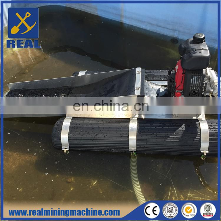 Super portable high powered backpackable dredge for gold mining Image