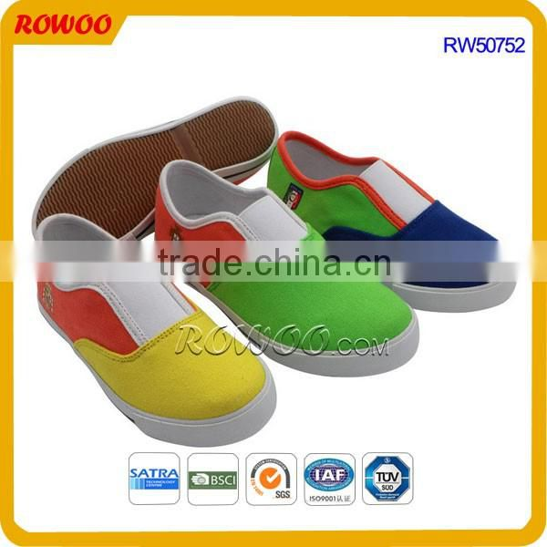 Fashion Unisex Colorful Slip On Canvas Shoes Child/Toddler Shoes