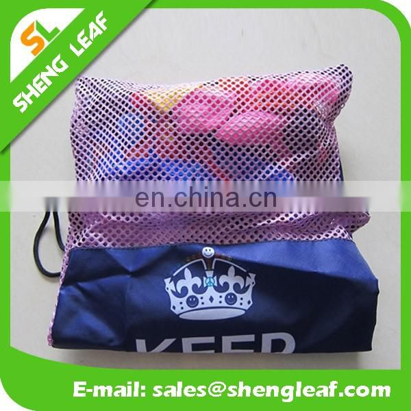 Laundry mesh bag for customized mesh drawstring laundry bag for sale