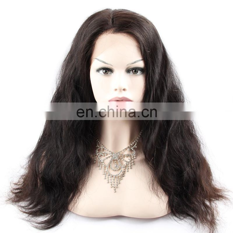 yaki 360 lace frontal men wig sewing machine human virgin japanese hair wig