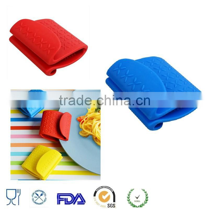 Heat Resistant Proof Oven Mitt Silicone Pot Holder