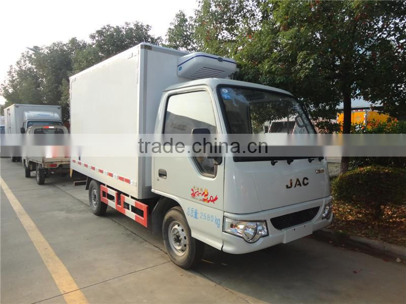 9fd003e7e8 Foton 6 wheeler diesel engine 3 ton refrigerated truck