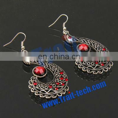 High Quality Peacock Style Earrings Wholesale & Dropship