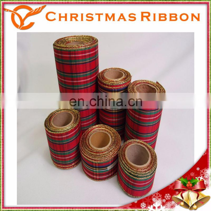Taiwan Hot Sale Traditional And Elegant Look Christmas Ribbon