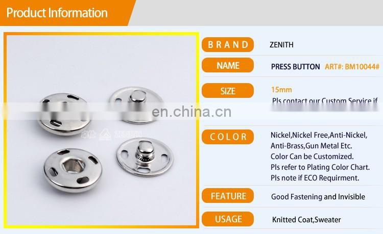 Sewing Press Button for Knitted Wear BM10044