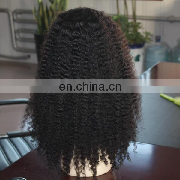 cheap 100% human hair wig mongolian hair afro kinky curly machine made wigs