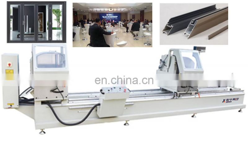 Double-head miter cutting saw aluminium extrusion manufacturers machines machinery with best quality