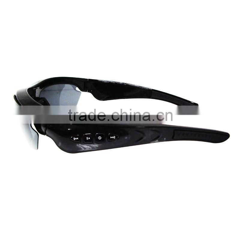 2013 new digital sunglasses with mp3 player and mobile phone call answering