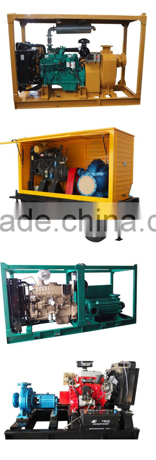 Diesel Centrifugal Water Pump for Agricultural Irrigation