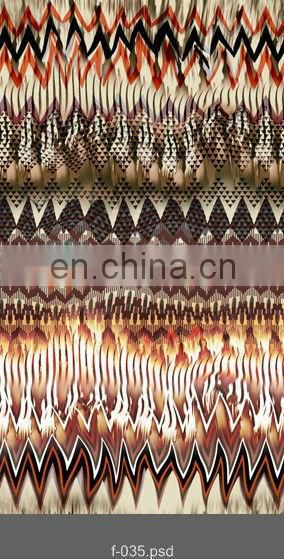 Hot Sale Spandex Silk Crepe De Chine Silk Fabric Digital Print For Man Shirt