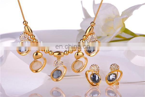 Hot selling 18k Gold Plated Jewelry Set