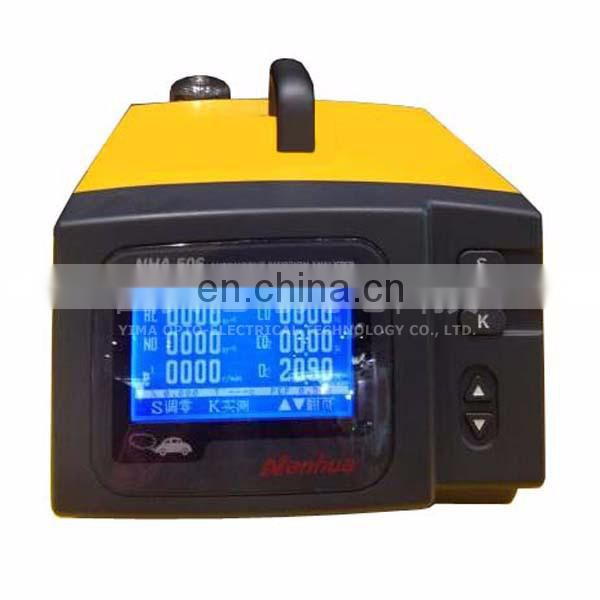NHA-406/506 vehicle Exhaust Gas Analyzer diesel engine gasoline engine