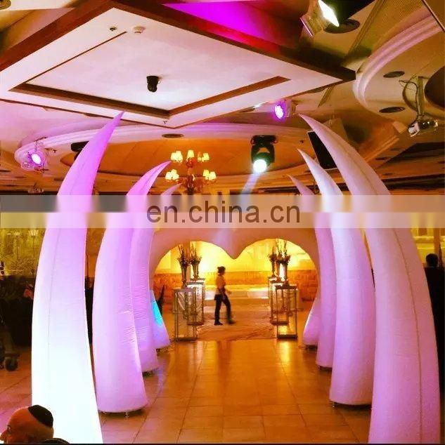 aC-05--- inflatable tube for Auto Show / inflatable pillars for sale