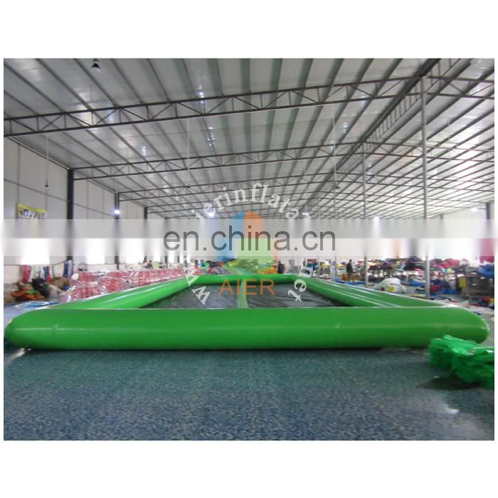 0.6mm PVC tarpaulin giant inflatable sport games / cheap inflatable zorb ball race track