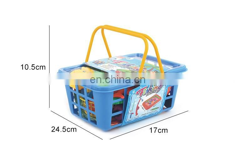 Double Pole Magnetic Fishing Combination And Inflatable Pool Fishing Toy Set
