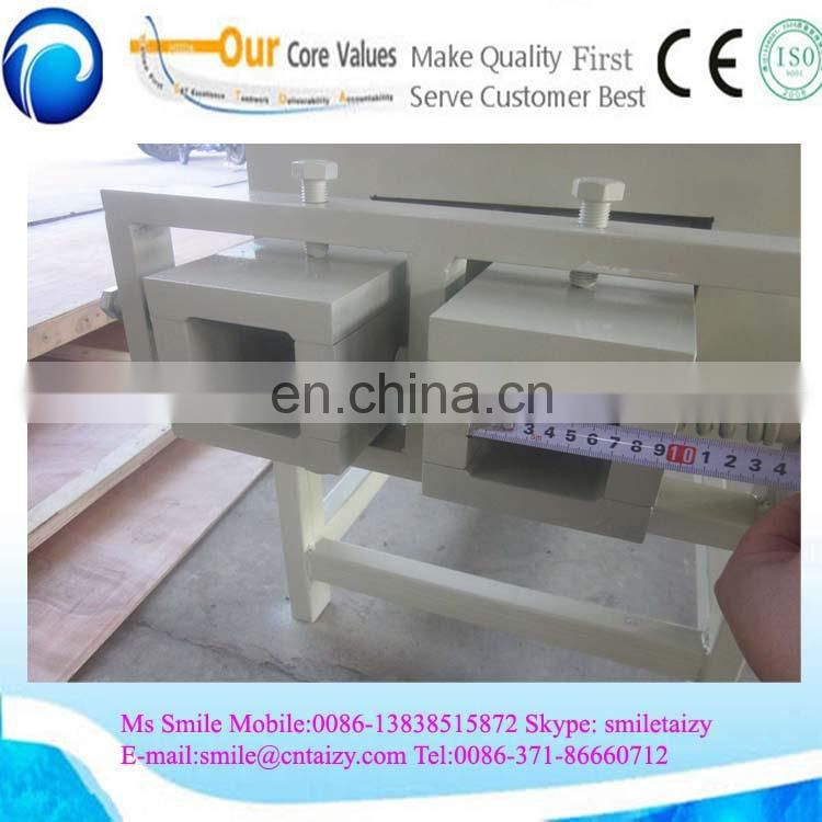 Latest technology hydraulic press /wood powder block making machine /block machine wood pallet