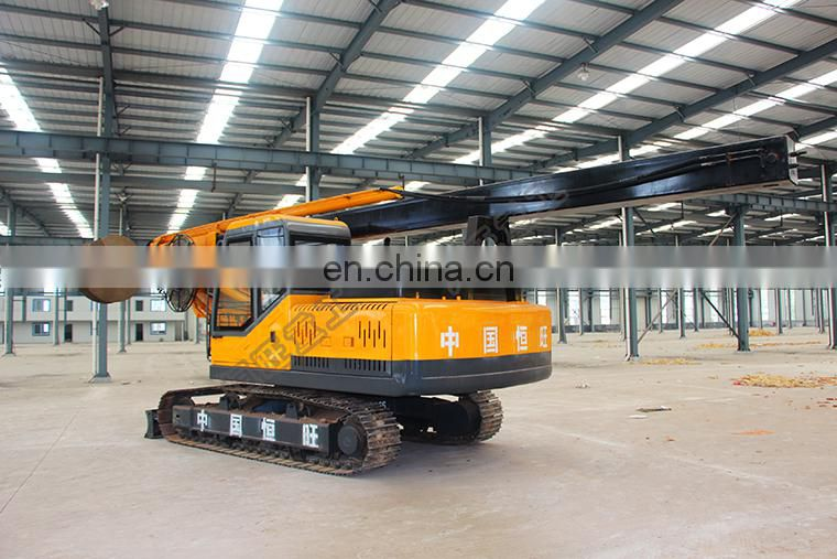 small hydraulic rotary drilling rig pile machine construction malaysia
