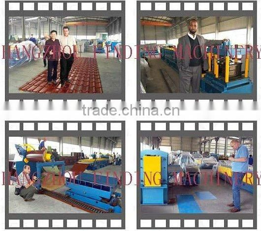 aluminium steel roofing tile cladding sheet cold roll forming making machine