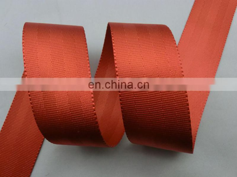 Custom 4.8cm UV resistant nylon safety belt