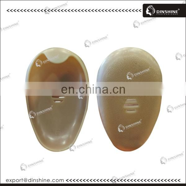 Custom printed hair dyeing disposable pe salon ear covers for sale