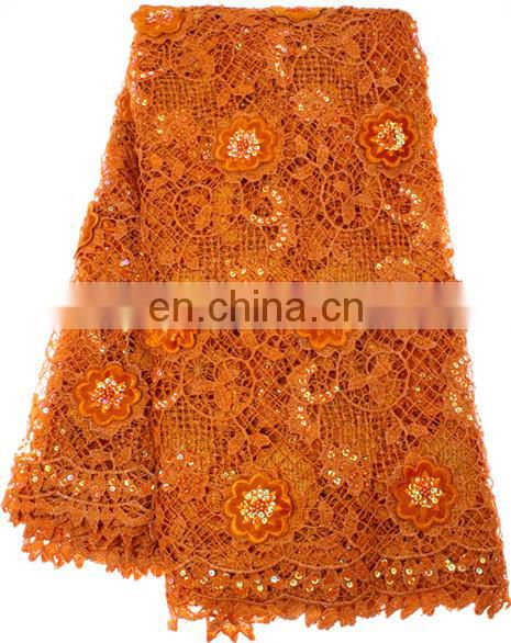 New Polyester chemical lace fabric