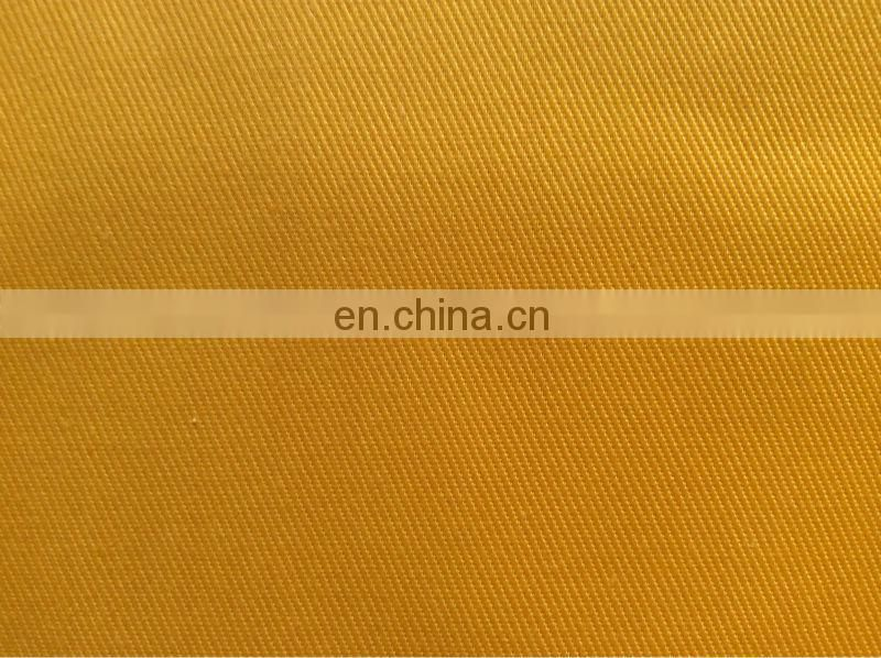 T/C 80/20 Twill fabrics plain color with lower price