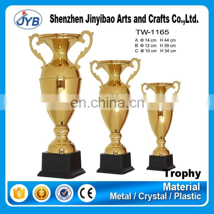 Best selling factory direct offer big gold custom trophy