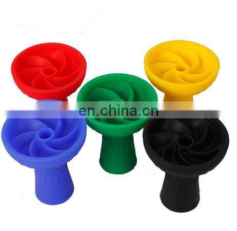Excellent quality Unbreakable Flower Silicon Hookah Bowl