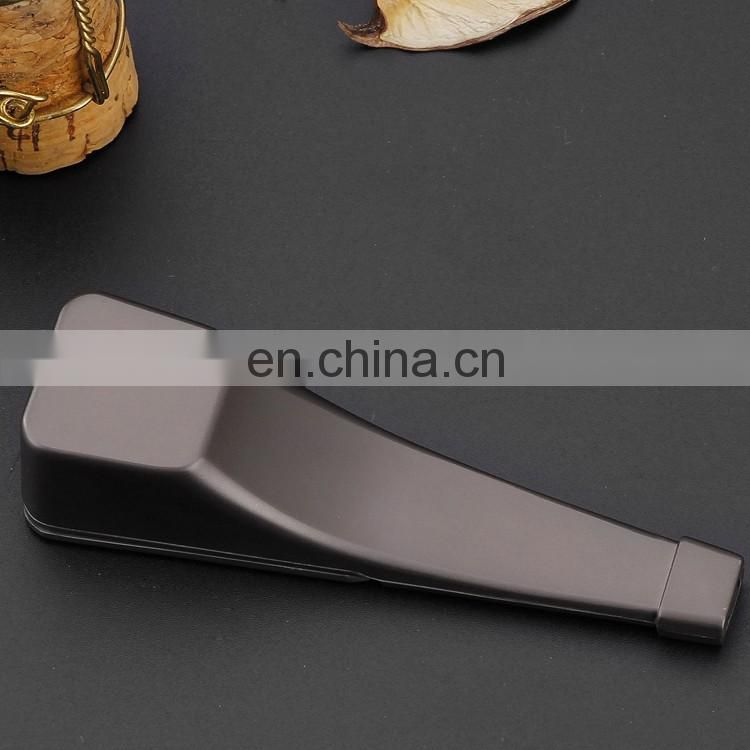 hot sale customized baccy matte black or other customized color tobacco pipe
