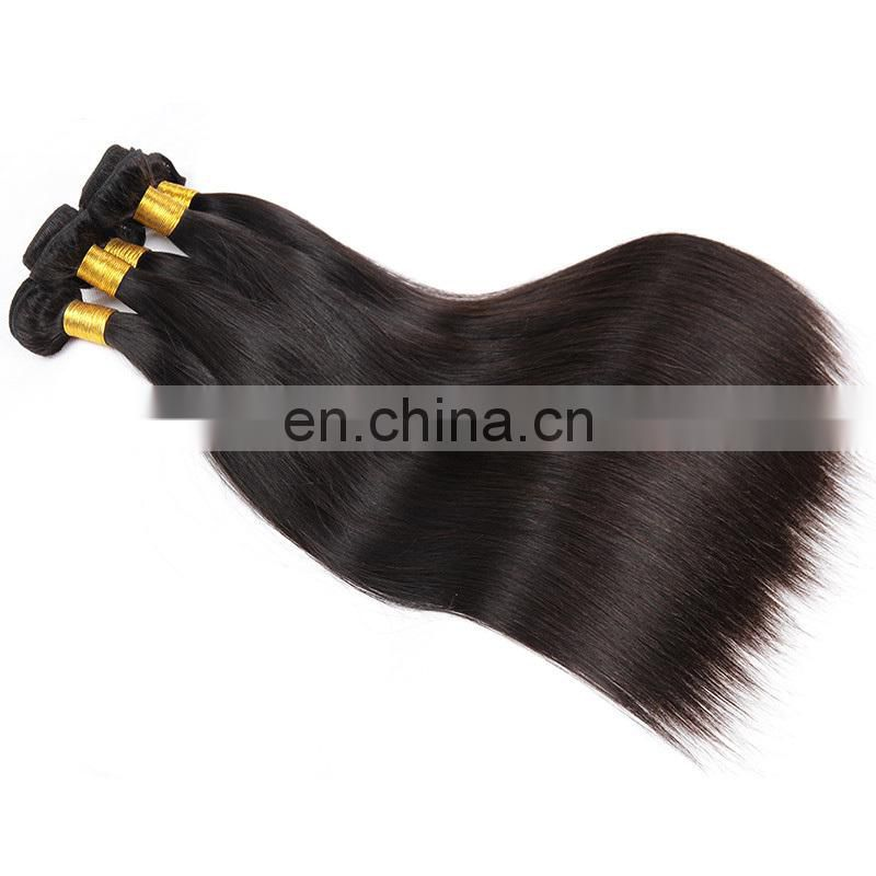 Alibaba Cheap Virgin Brazilian Remy Human Hair, Silk Straight Natural Black Hair Extension