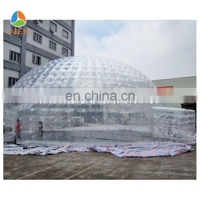 Inflatable transparent bubble tent,transparent inflatable tent