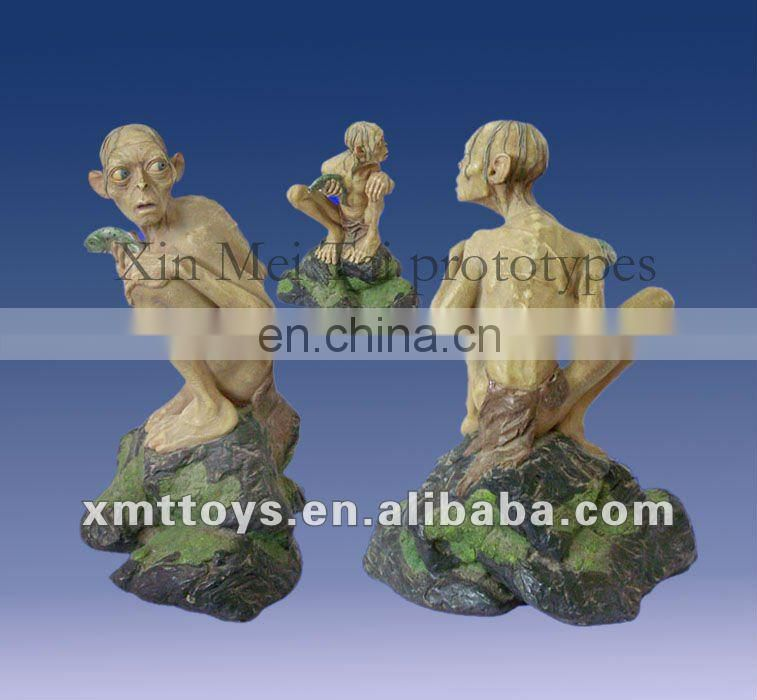 polyresin a couple statue for decoration