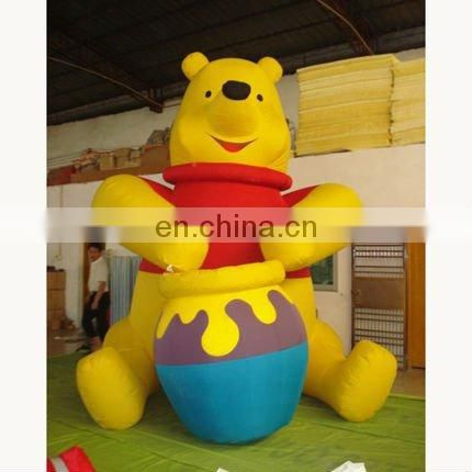 giant inflatable gorilla character for advertising