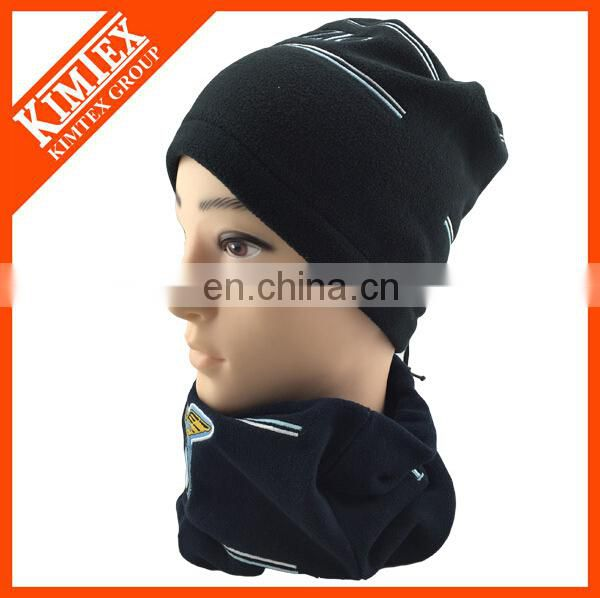 multifunctional neck gaiter with embroidery logo