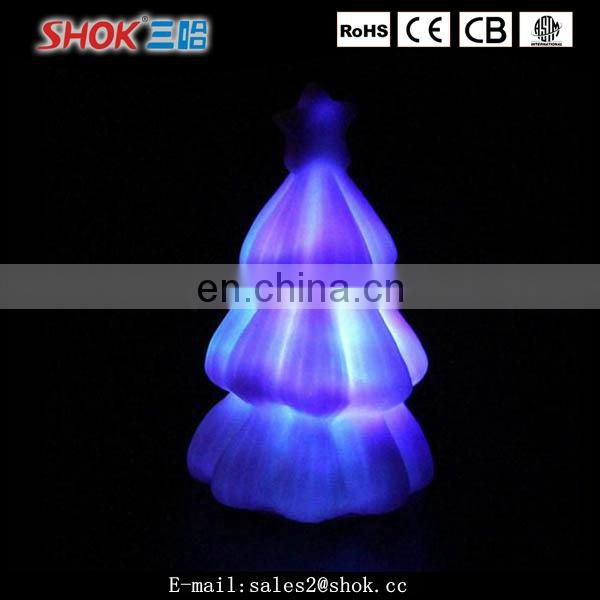 Christmas decorations artificial led light christmas tree