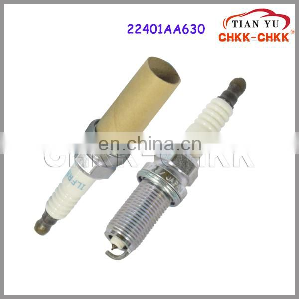 Auto parts spark plugs wholesale oem 22401AA630 22401 AA630 ILFB6B Spark Plugs