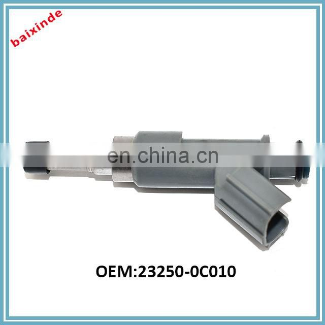 High Quality Factory Price Fuel Injector OEM 23250-0C010 4Runer Hiace Tacoma