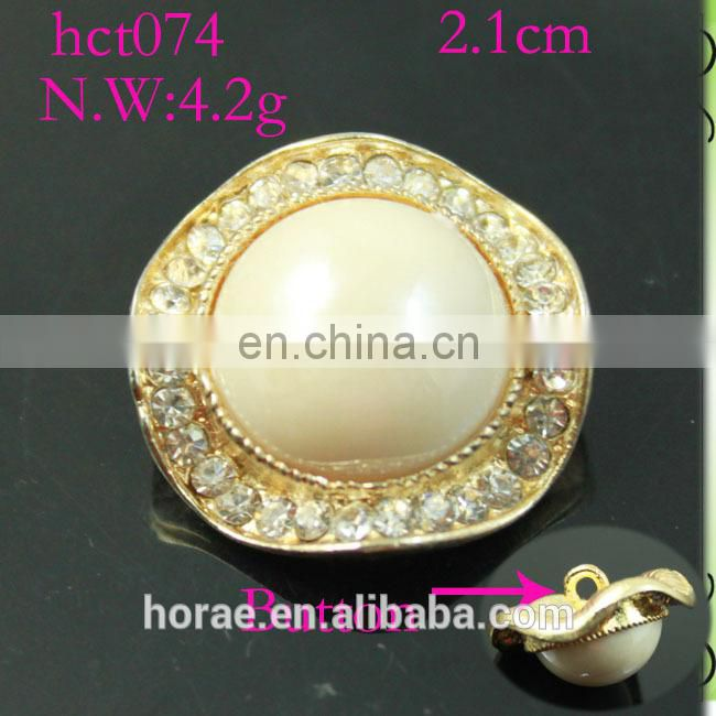 wholesale 2.2cm round shape acrylic rhinestone button,rhinestone button cover