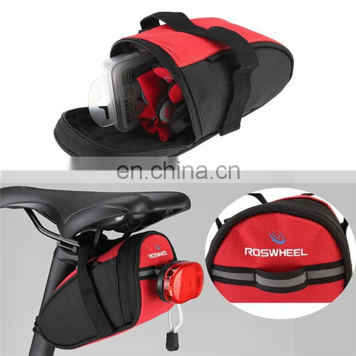 carbon fiber reinforced plastics Outdoor Sport Travel Cycling Bike Bicycle Saddle Bag bicycle Seat Bag/bike seat bag