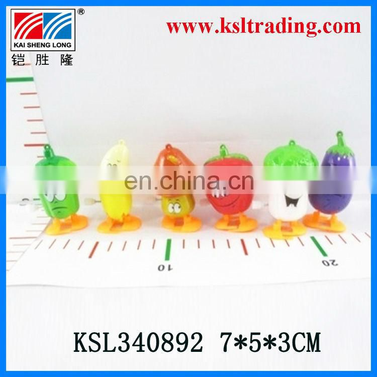 kids plastic wind up fruit for kids