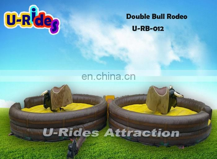 Hot Sale Funny Competitor Double Bull Rodeo