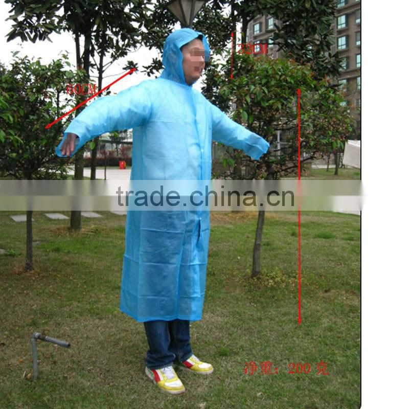 fashion outdoor portable hiking climbing adult rainwear