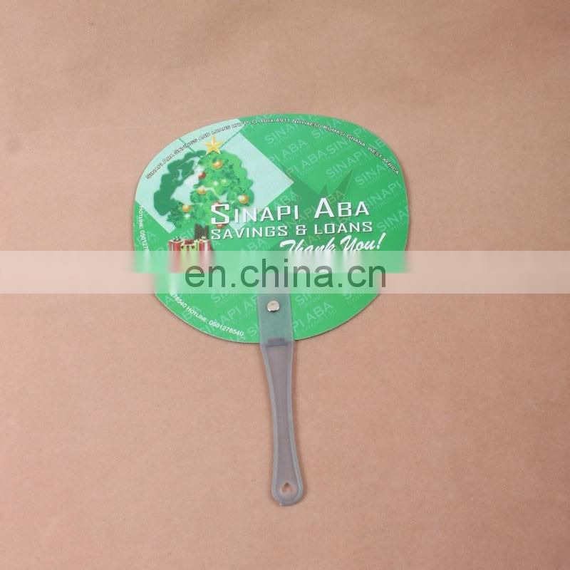 2016 Cheapest item and colorful plastic fan,plastic hand fan,handle plastic fan