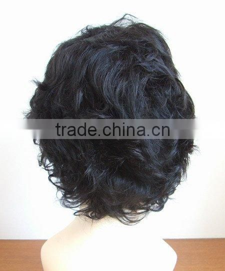 China Best Supplier Short Natural Brazilian Human Hair Wig For Black Women