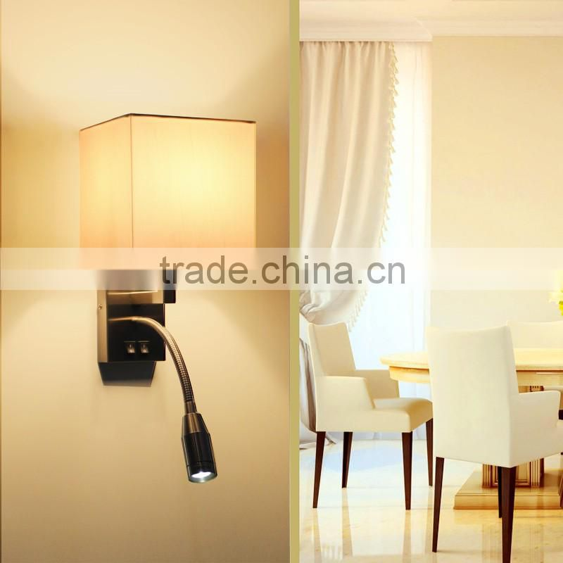 CE ROHS approved hotel guestroom LED wall lamp, hotel guestroom LED wall lamp, LED wall lamp WL1041