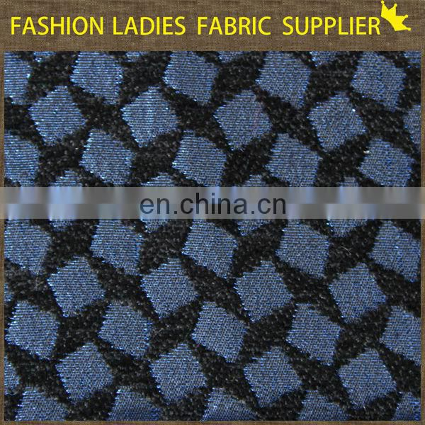 Onway Textile Classical Design 100% Cotton Woven Jacquard Fabric for Shirting